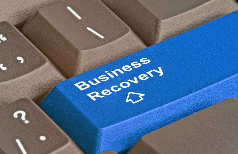 Business recovery button
