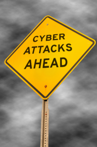 Cyber attacks ahead image