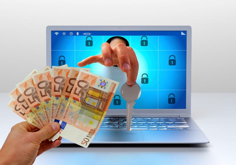 Paying ransomware image