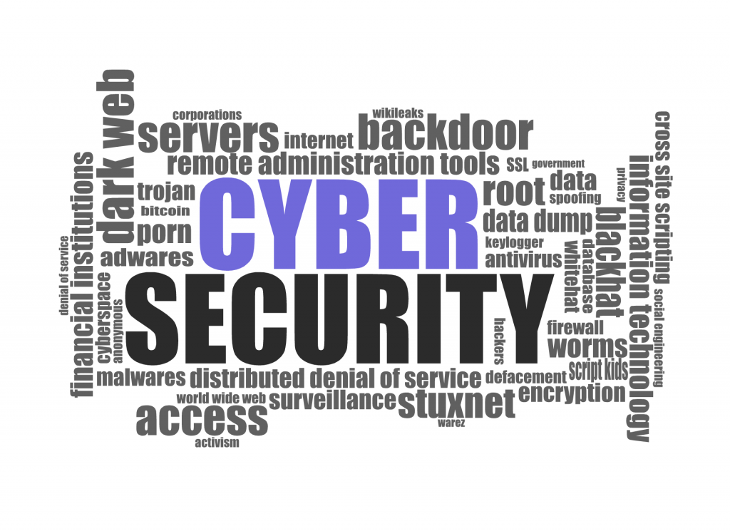 Cyber security key words