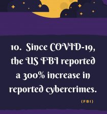 13 Scary Cyber facts - Number 10